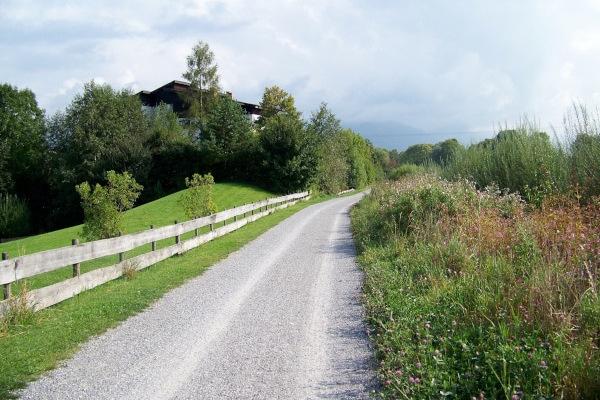 radweg bei sonthofen